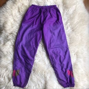 Break Point Vintage Windbreaker Wind Pants S